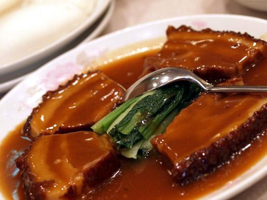 横浜中華街 一楽 上海蟹 角煮
