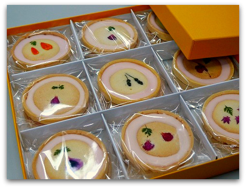 洋菓子アリスのお花のクッキー はなこ