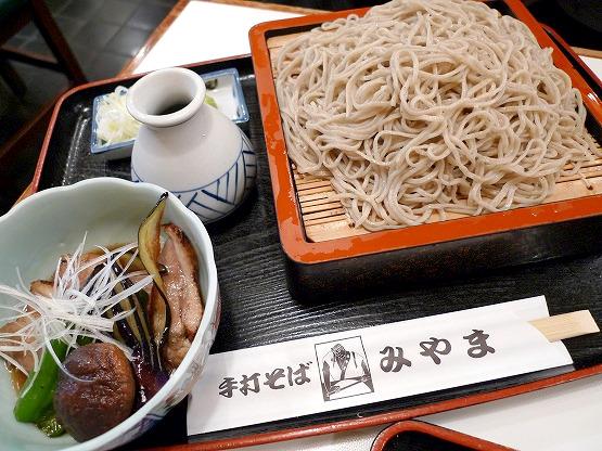 横浜本郷台 みやま 手打ちそば 五色納豆