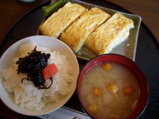 鎌倉ランチ 玉子焼 おざわで玉子焼定食
