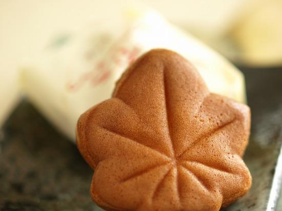にしき堂のもみじ饅頭(広島)チーズもみじ