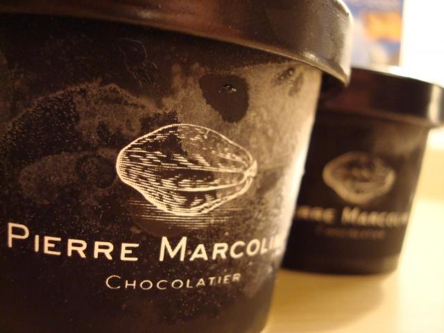 ピエールマルコリーニ/チョコレートアイスクリーム
