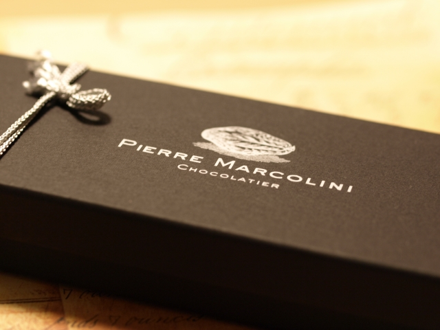 2008年のバレンタインは、サロンドショコラ効果でピエールマルコリーニ。