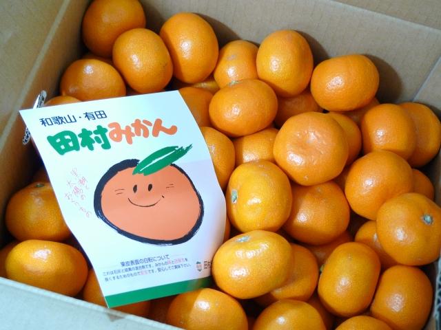 田村みかん。和歌山有田みかんの最高級ブランド「田村みかん」は、毎年のお楽しみです。