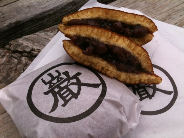 老舗の和菓子屋さん巌邑堂(がんゆうどう)のどら焼きと浜松城【静岡・浜松旅行その6】
