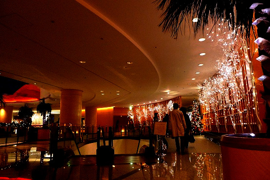 お誕生日ディナーは、中国料理トゥーランドット游仙境でクリスマスコース。(横浜ベイホテル東急(旧:パンパシフィック横浜ベイホテル東急))