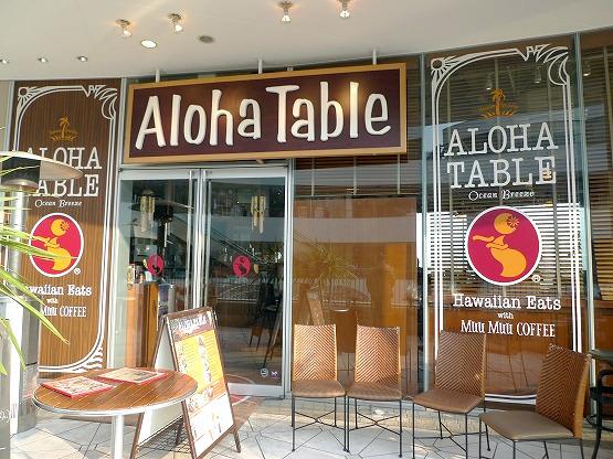 ハワイアンなお店「アロハテーブル(AlohaTable)」(横浜ベイクォーター)でロコモコ。