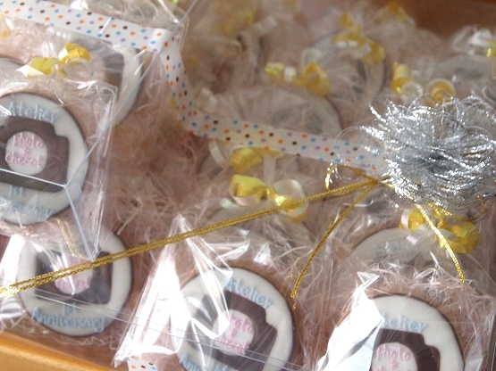 オーダーメイドのアイシングクッキーでお祝いしました。台所deビストロのクッキーshop cookie couture (クッキー・クチュール)