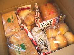 浅草ペリカンのパン@東京浅草(食パン・ロールパン・山パン)