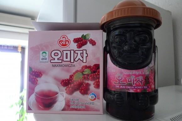 のどの不調に韓国の伝統茶 オミジャ茶(五味子茶)