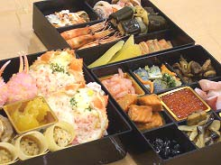 おせち料理の予約 2007年は、カニ海鮮おせち【北海華籠膳】*試食レポ
