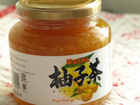 韓国高興産柚子茶(柚子ジャム)は、手放せないです!
