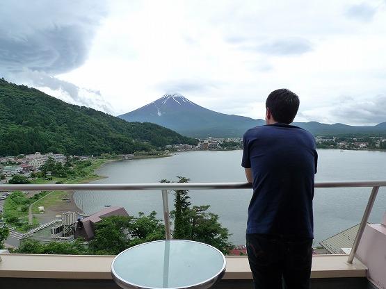 【山梨・河口湖旅行 その6】河口湖湖のホテル(ミズノホテル)朝食はテラスで♪