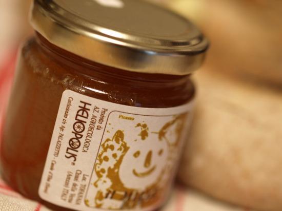ポデーレ・イル・カサーレ ボスコ イタリアの木の樹液からできたハチミツ