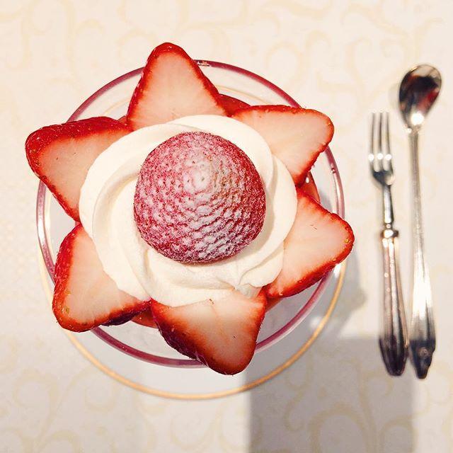 【日本橋高島屋 レストラン】資生堂パーラーで、美濃姫のパフェを食べました。