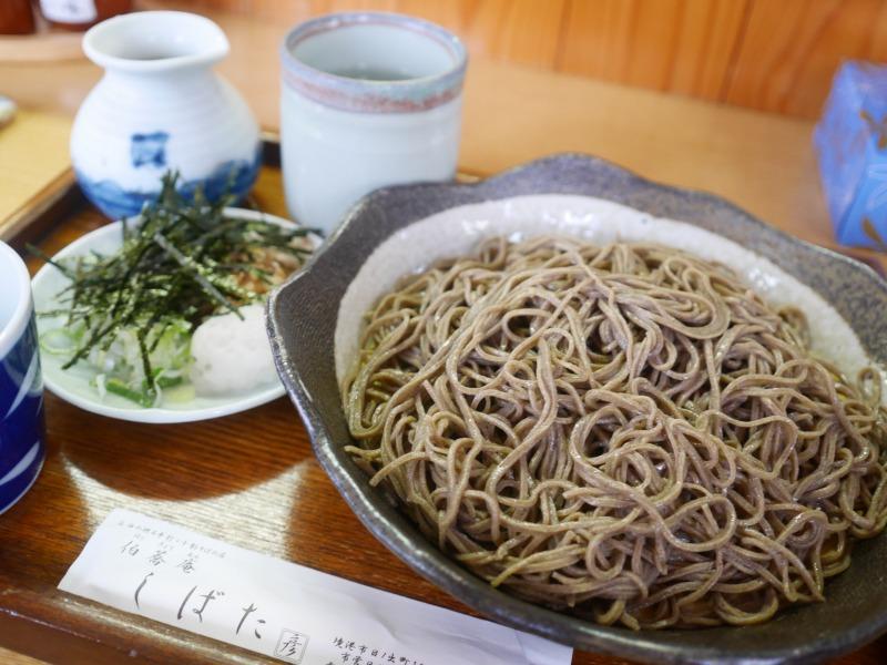 境港、伯蕎庵 しばた/父娘鳥取島根旅行No.02