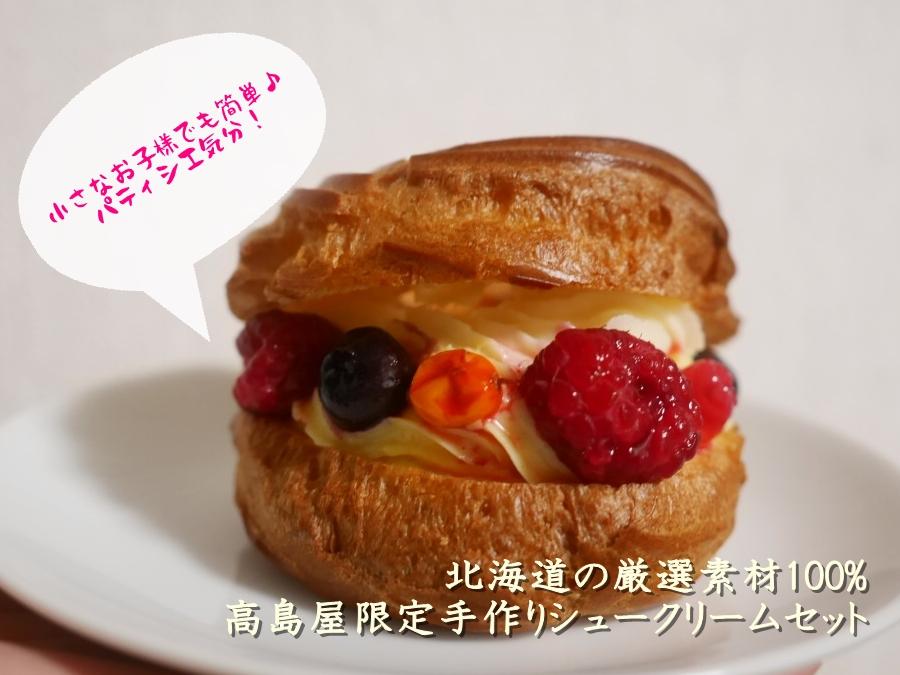 失敗知らずで美味しい♪北海道お取り寄せシュークリームセット(キット)
